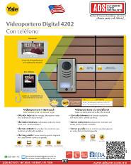 Catalogo Videoportero Digital 4202 Con Teléfono Yale, ADS Puertas y Portones Automaticos