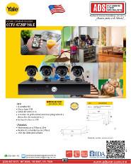 Catalogo Circuito Cerrado de Televisión CCTV 4720P YALE, ADS Puertas y Portones Automaticos