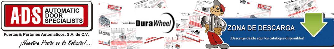 durawheel logo, ADS Puertas y Portones Automaticos