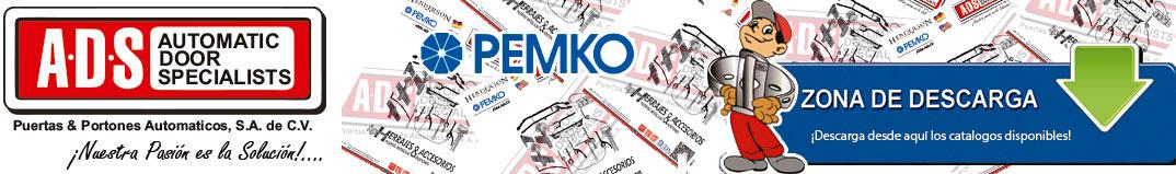 logo PEMKO, logo PEMKO ADS Puertas y Portones Automaticos