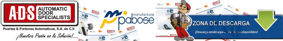 logo PABOSE, ADS Puertas & Portones Automaticos S.A. de C.V., ADS Puertas y Portones Automaticos S.A. de C.V.